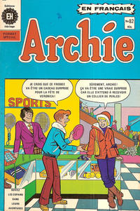 Cover Thumbnail for Archie (Editions Héritage, 1971 series) #82