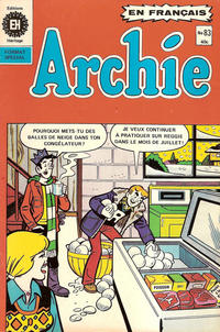 Cover Thumbnail for Archie (Editions Héritage, 1971 series) #83