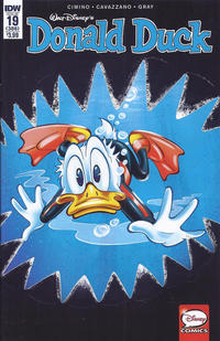 Cover Thumbnail for Donald Duck (IDW, 2015 series) #19 / 386