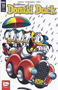 Cover Thumbnail for Donald Duck (IDW, 2015 series) #19 / 386 [Subscription Cover]