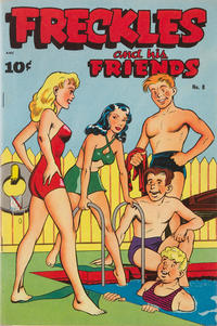 Cover for Freckles and His Friends (Better Publications of Canada, 1949 series) #8