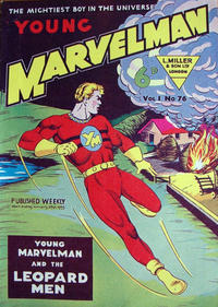 Cover Thumbnail for Young Marvelman (L. Miller & Son, 1954 series) #76