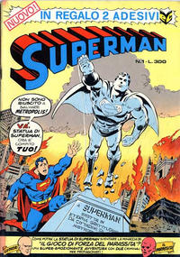 Cover Thumbnail for Superman (Editrice Cenisio, 1976 series) #1
