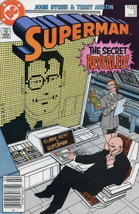 Cover Thumbnail for Superman (DC, 1987 series) #2 [Canadian]