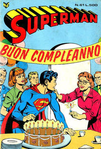 Cover Thumbnail for Superman (Editrice Cenisio, 1976 series) #61