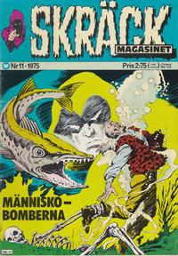 Cover Thumbnail for Skräckmagasinet (Williams Förlags AB, 1972 series) #11/1975