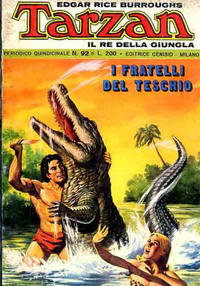 Cover Thumbnail for Tarzan (Editrice Cenisio, 1968 series) #92