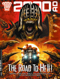 Cover Thumbnail for 2000 AD (Rebellion, 2001 series) #2025