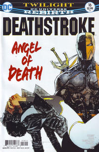 Cover Thumbnail for Deathstroke (DC, 2016 series) #16 [Bill Sienkiewicz Cover Variant]