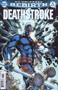 Cover Thumbnail for Deathstroke (DC, 2016 series) #16 [Shane Davis Cover Variant]