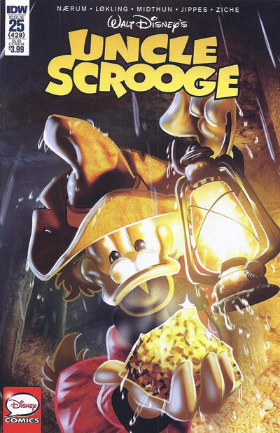 Cover for Uncle Scrooge (IDW, 2015 series) #25 / 429
