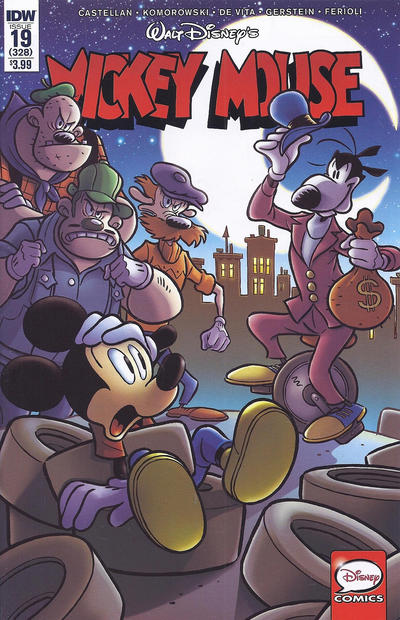 Cover for Mickey Mouse (IDW, 2015 series) #19 / 328