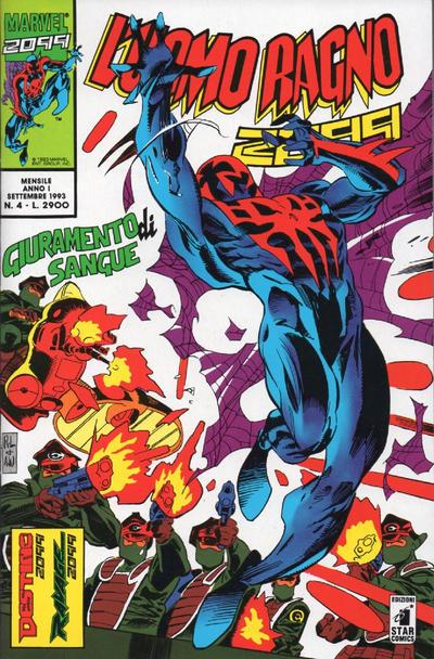 Cover for L'Uomo Ragno 2099 (Edizioni Star Comics, 1993 series) #4