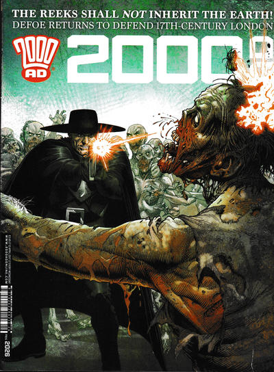Cover for 2000 AD (Rebellion, 2001 series) #2026