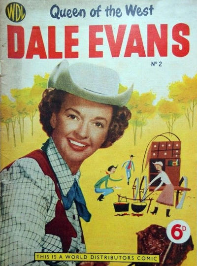 Cover for Dale Evans Queen of the West (World Distributors, 1955 series) #2