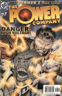 Cover Thumbnail for The Power Company (DC, 2002 series) #7
