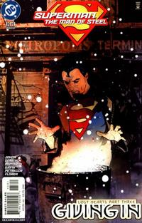 Cover Thumbnail for Superman: The Man of Steel (DC, 1991 series) #133