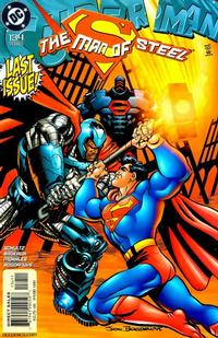 Cover Thumbnail for Superman: The Man of Steel (DC, 1991 series) #134 [Direct Edition]