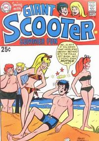 Cover Thumbnail for Swing with Scooter (DC, 1966 series) #20