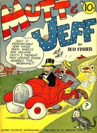 Cover Thumbnail for Mutt & Jeff (DC, 1939 series) #[1]