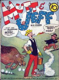 Cover Thumbnail for Mutt & Jeff (DC, 1939 series) #[2]