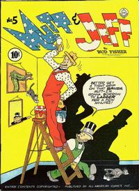 Cover Thumbnail for Mutt & Jeff (DC, 1939 series) #5