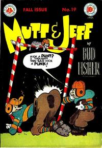 Cover Thumbnail for Mutt & Jeff (DC, 1939 series) #19