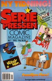 Cover Thumbnail for Seriepressen (Formatic, 1993 series) #1/1993