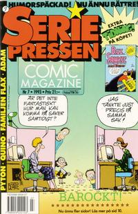Cover Thumbnail for Seriepressen (Formatic, 1993 series) #7/1993