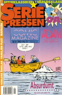 Cover Thumbnail for Seriepressen (Formatic, 1993 series) #8/1993