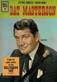 Cover Thumbnail for Bat Masterson (Dell, 1960 series) #9