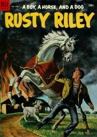 Cover Thumbnail for Four Color (Dell, 1942 series) #486 - Rusty Riley, a Boy, a Horse, and a Dog