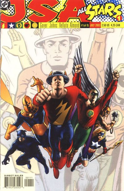 Cover for JSA: All Stars (DC, 2003 series) #1