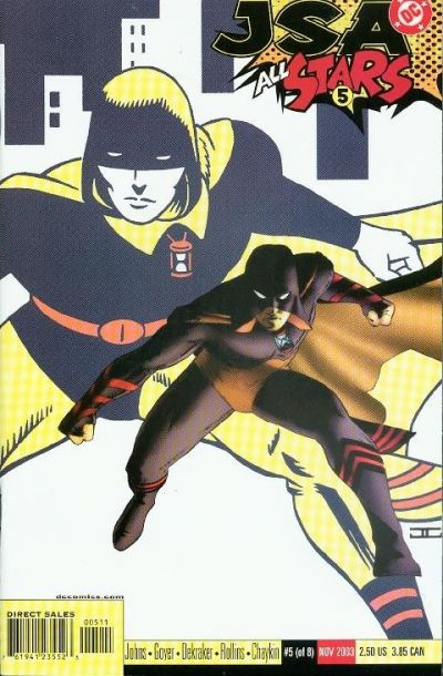 Cover for JSA: All Stars (DC, 2003 series) #5