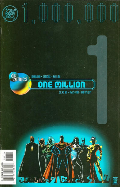 Cover for DC One Million (DC, 1998 series) #1