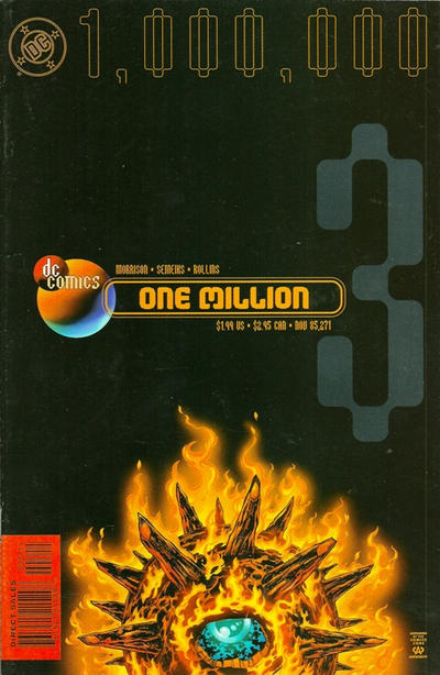 Cover for DC One Million (DC, 1998 series) #3