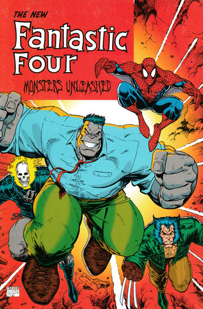 Cover for Fantastic Four: Monsters Unleashed (Marvel, 1992 series)