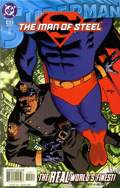 Cover for Superman: The Man of Steel (DC, 1991 series) #129