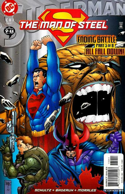 Cover for Superman: The Man of Steel (DC, 1991 series) #130