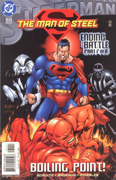 Cover for Superman: The Man of Steel (DC, 1991 series) #131