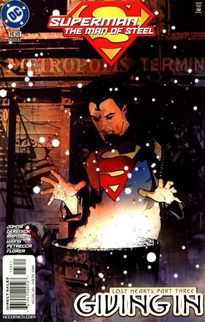 Cover for Superman: The Man of Steel (DC, 1991 series) #133