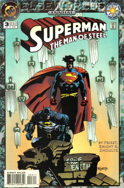 Cover for Superman: The Man of Steel Annual (DC, 1992 series) #3 [DC Universe Corner Box]