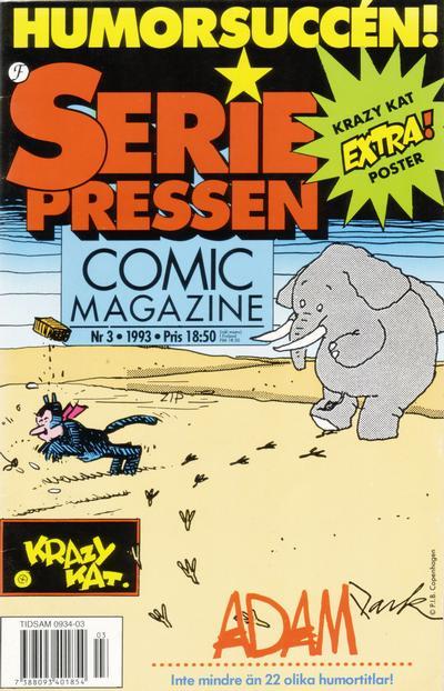 Cover for Seriepressen (Formatic, 1993 series) #3/1993
