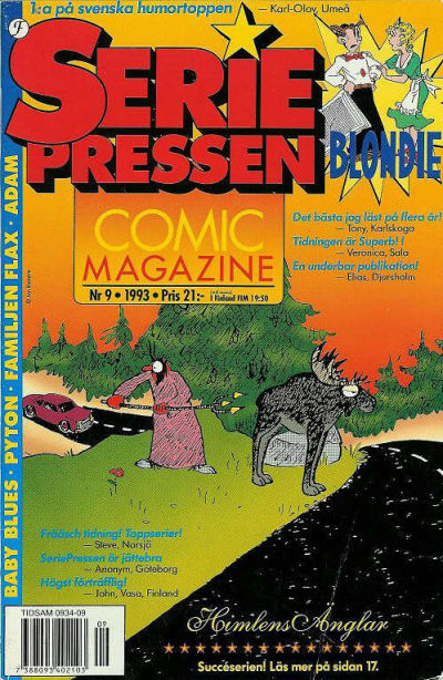 Cover for Seriepressen (Formatic, 1993 series) #9/1993