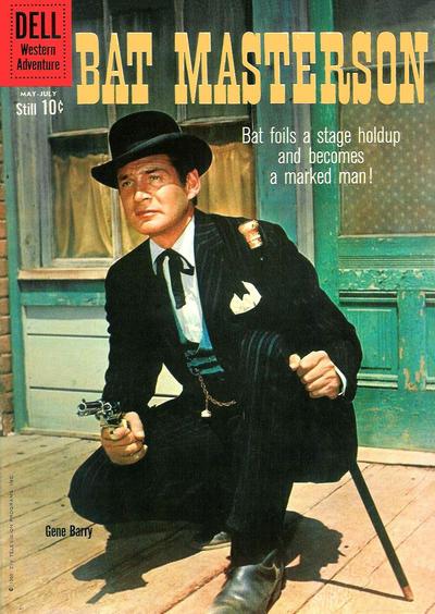 Cover for Bat Masterson (Dell, 1960 series) #3