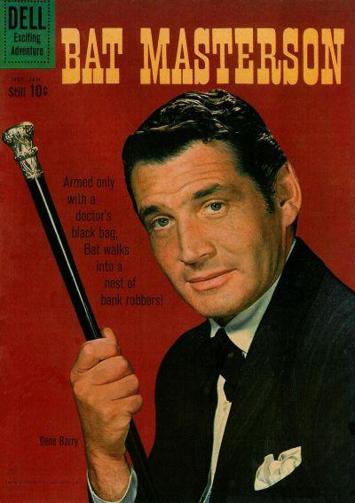 Cover for Bat Masterson (Dell, 1960 series) #5