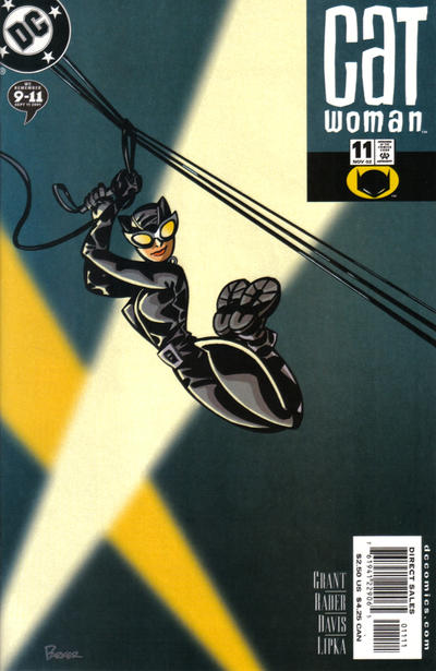 Cover for Catwoman (DC, 2002 series) #11 [Newsstand]