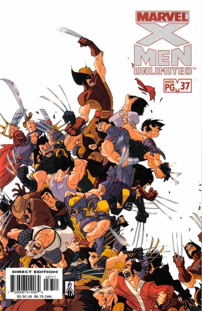 Cover for X-Men Unlimited (Marvel, 1993 series) #37