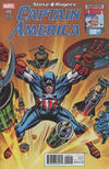 Cover Thumbnail for Captain America: Steve Rogers (2016 series) #9 [Incentive Jack Kirby 100th Anniversary Variant]
