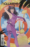 Cover for Hawkeye (Marvel, 2017 series) #1 [Incentive Marguerite Sauvage Variant]